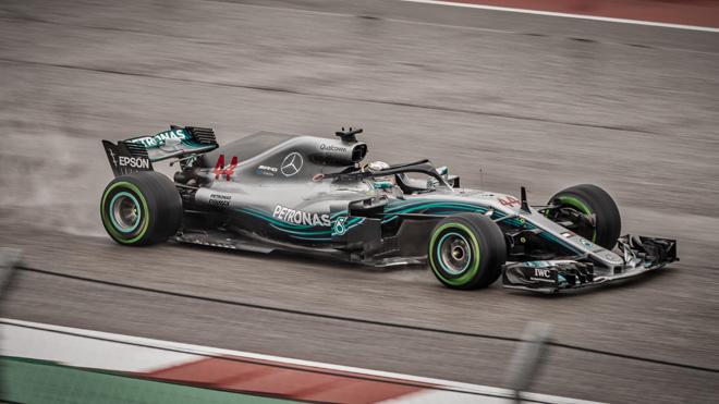 Lewis Hamilton USA:n GP:ssä Austinissa 2018. Kuva © 2018 Joe McGowan / Flickr.com