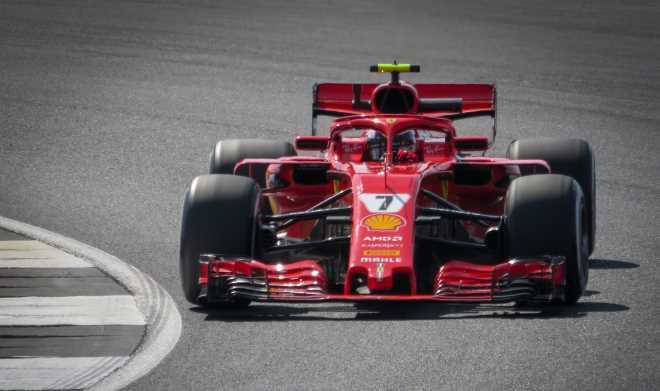 Kimi Räikkönen 6.7.2018. Kuva © 2018 Jen_ross83 / Flickr.com