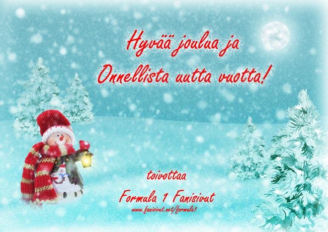 Hyvää joulua ja onnellista uutta vuotta 2019! Kuva © 2018 darkmoon1968 / Pixabay, kuvankäsittely Jarkko Nieminen / Fanisivut.net