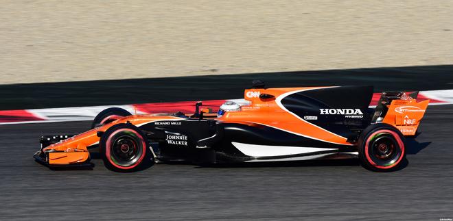 McLaren Barcelonan talvitesteissä helmikuussa 2017. Kuva: © 2017 Artes Max / Flickr.com