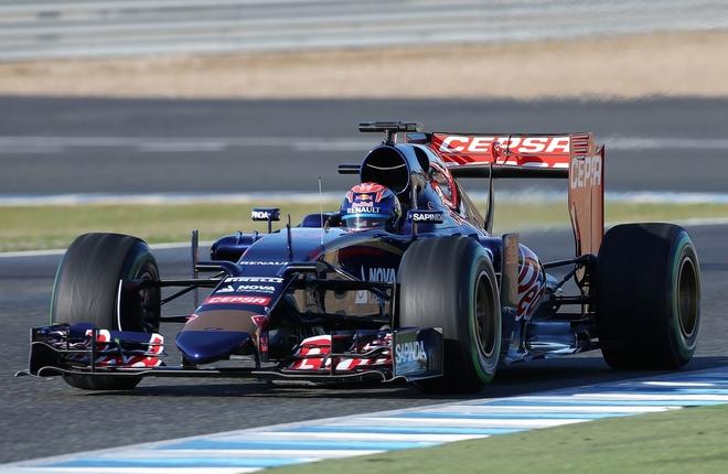 Toro Rosso talvitesteissä 2015. Kuva: © 2015 Flickr.com.