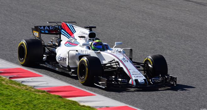 Felipe Massa palasi lyhyiltä eläkepäiviltä takaisin sorvin ääreen Williamsille. Kuva: © 2017 Artes Max / Flickr.com